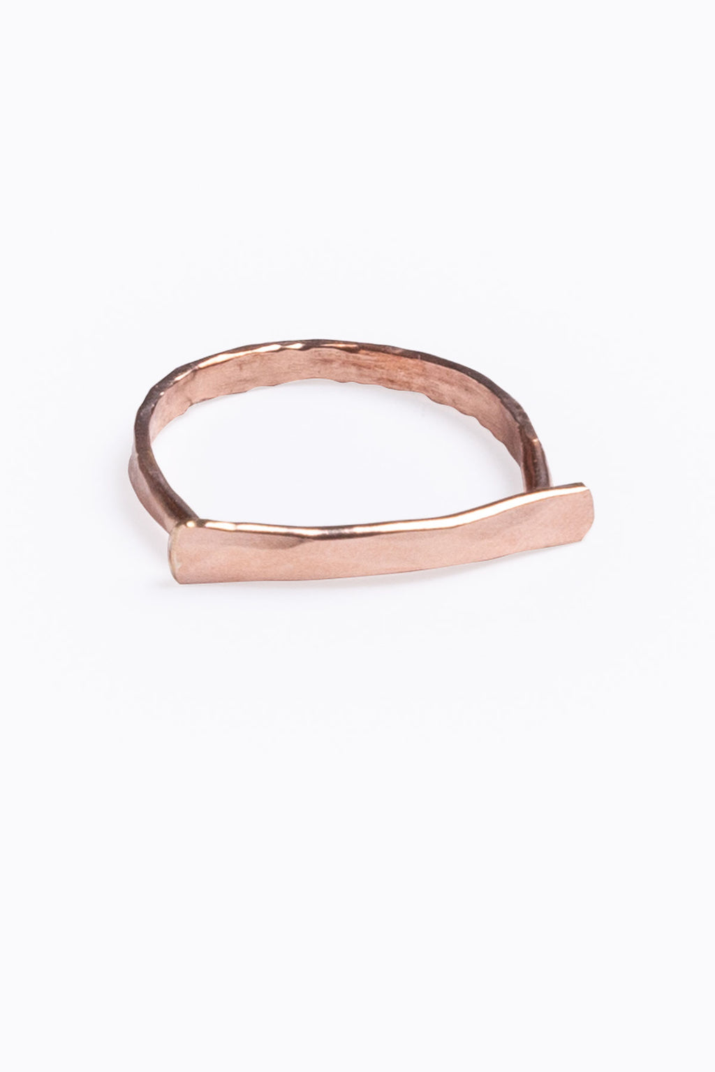Nashelle: Faceted Bar Ring
