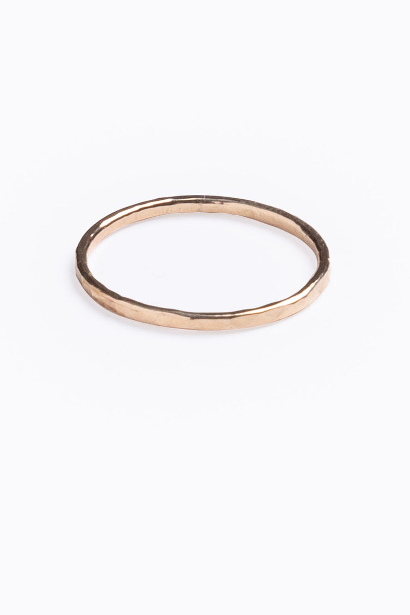 Nashelle: Simple Pure Ring in Gold