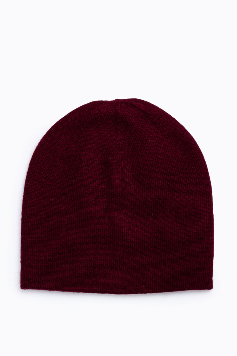 Basic Beanie in Burgundy