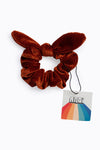Perfect Match Hair Bow Headband in Chestnut