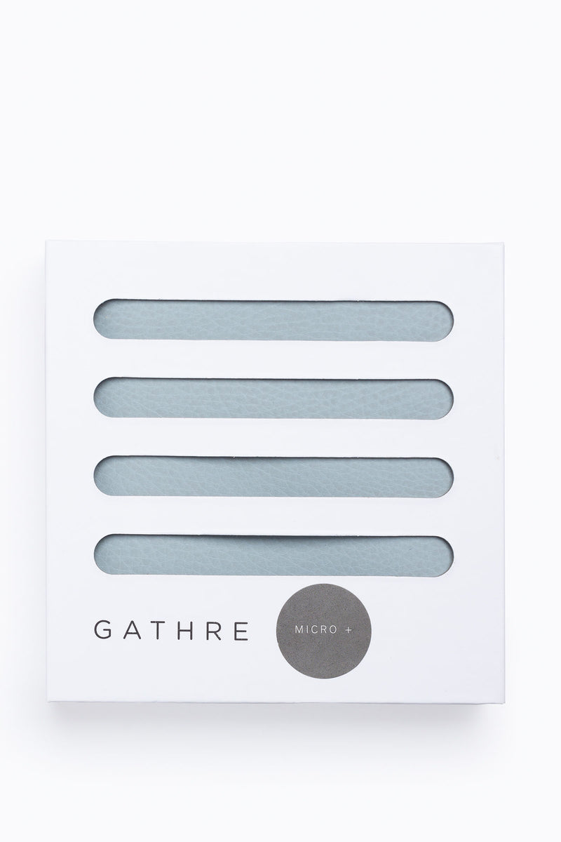 Gathre: Micro+ Changing Mat in Pewter