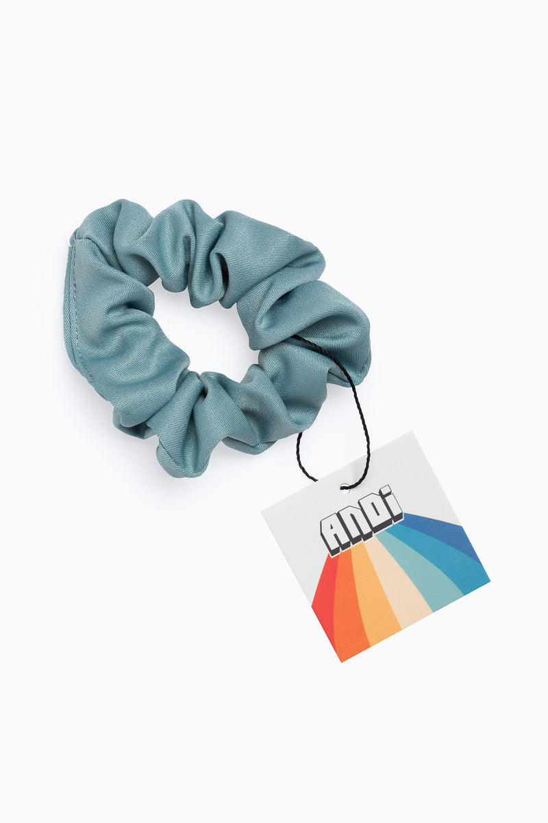 Seafoam Cotton Scrunchie