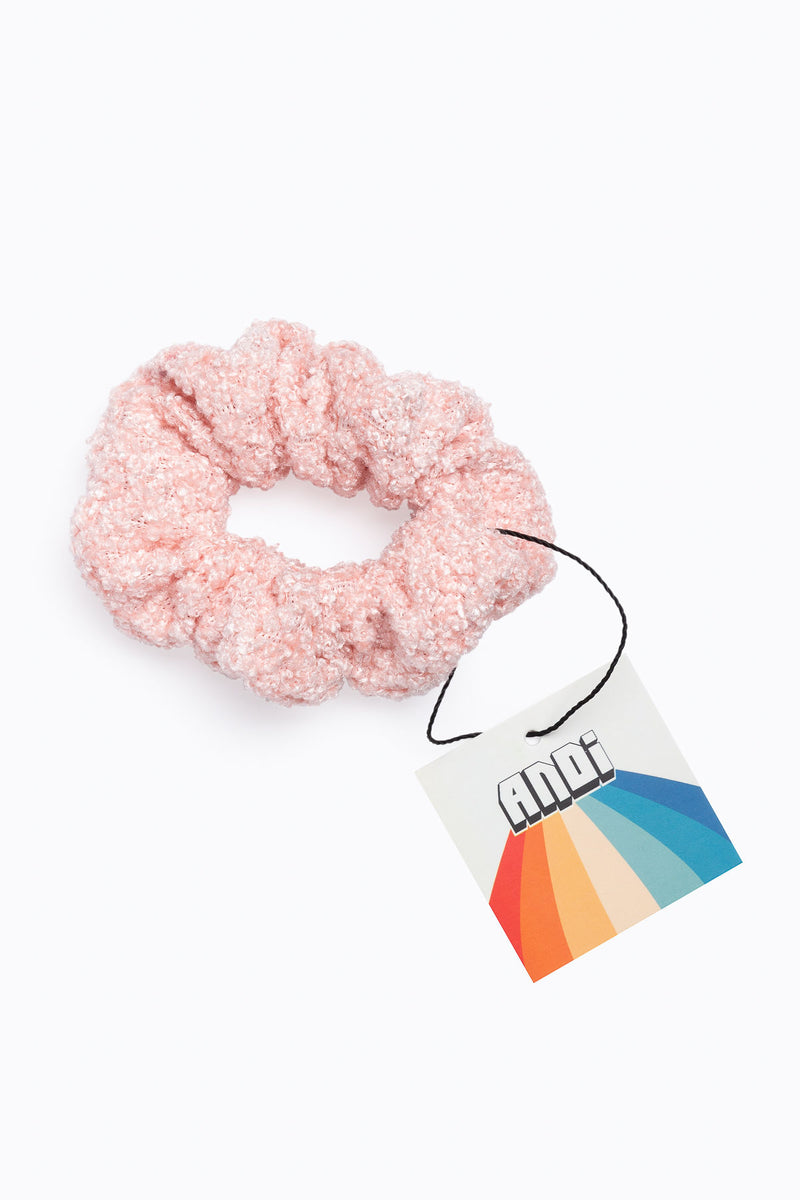 Cozy Scrunchie in Pink