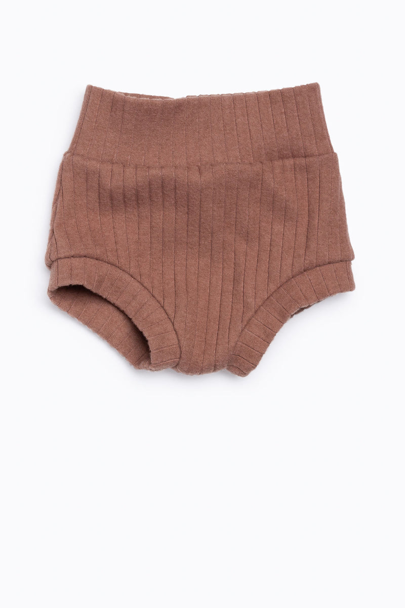 Bohemian Babies: High Waisted Shorties in Dusty Rose