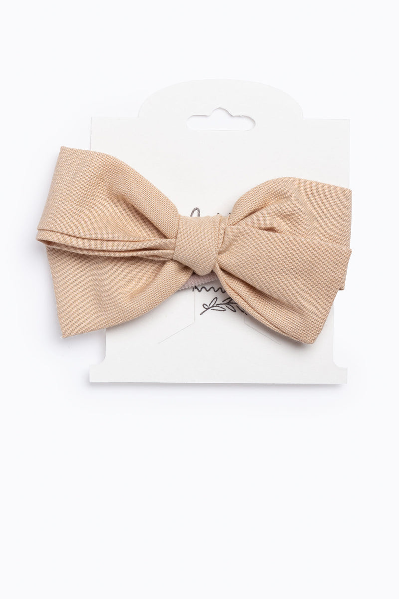 Little Ella Rae: Quincey Bow in Khaki