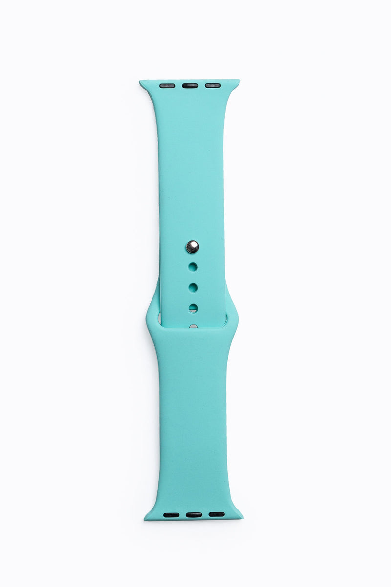 Apple Watch Band in Mint Silicone