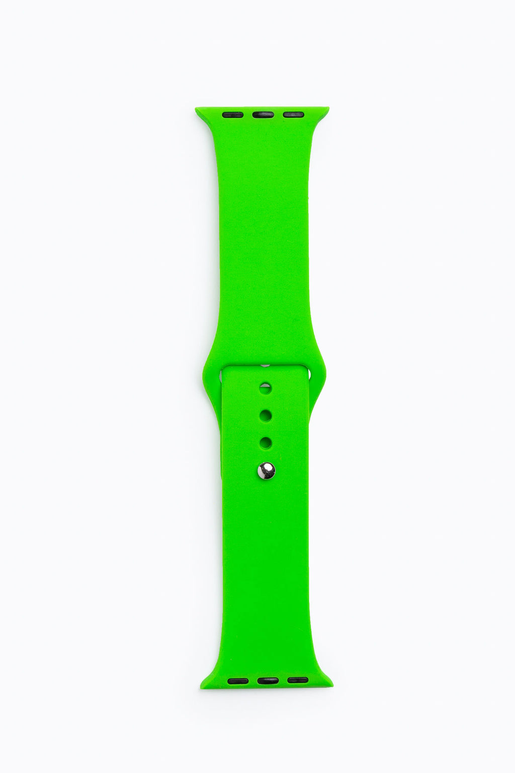 Apple Watch Band in Green Apple Silicone