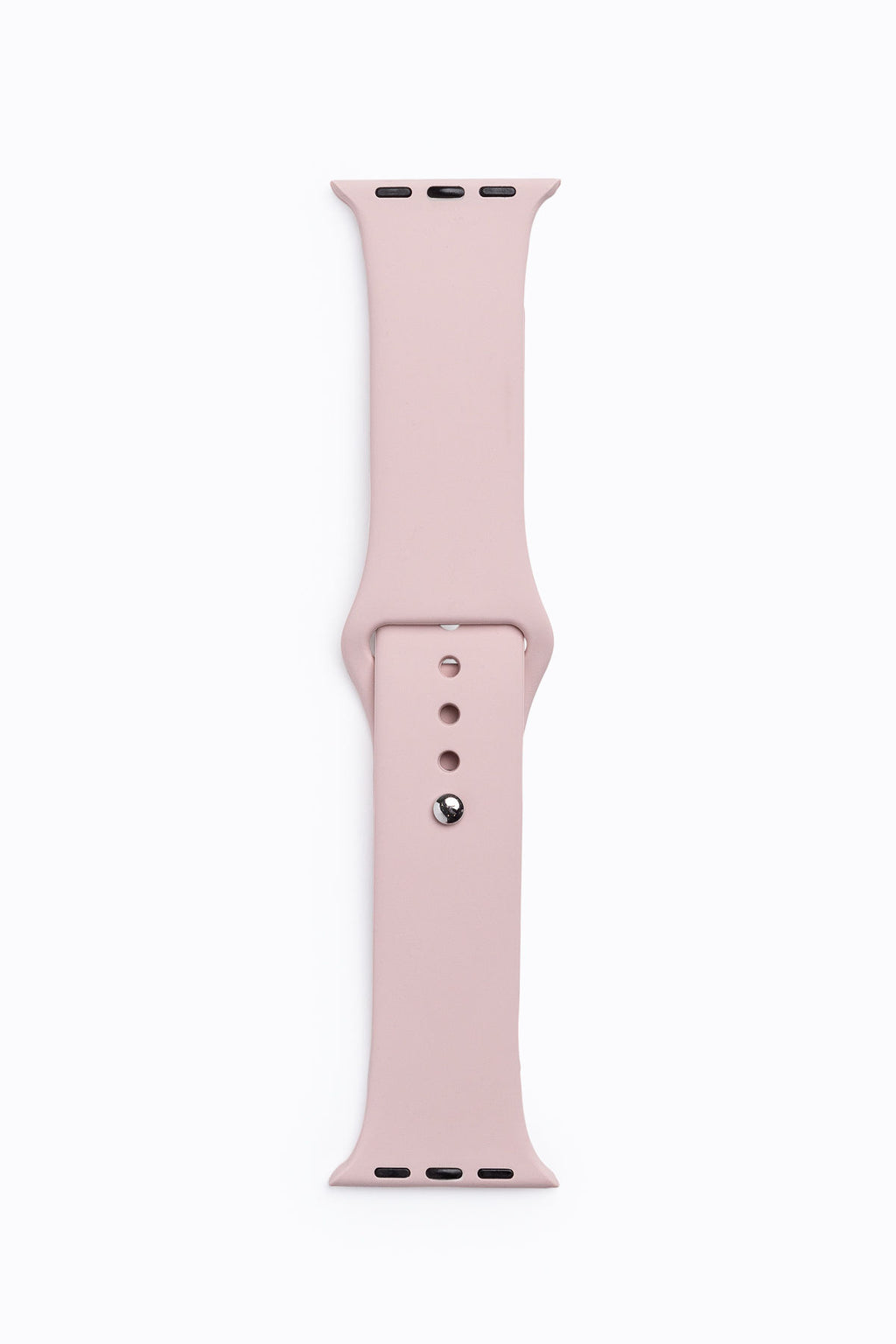 Apple Watch Band in Blush Silicone
