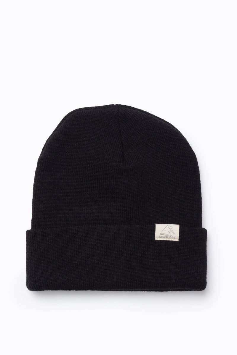 Youth/Adult Beanie in Jet Black