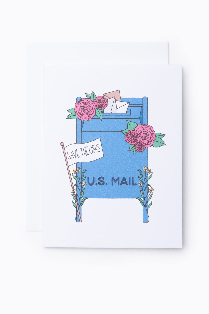SAMMY GORIN: Save The USPS Greeting Card