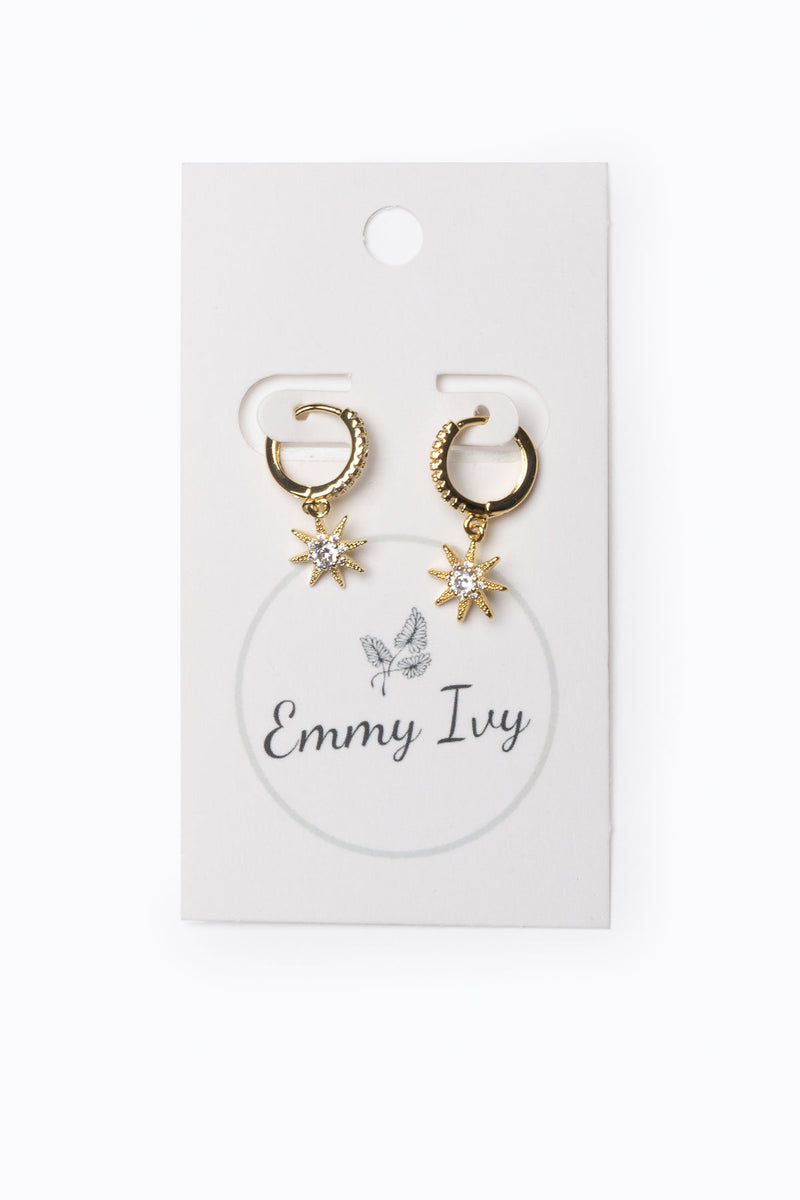 Emmy Ivy: Studded Sunshine Hoops