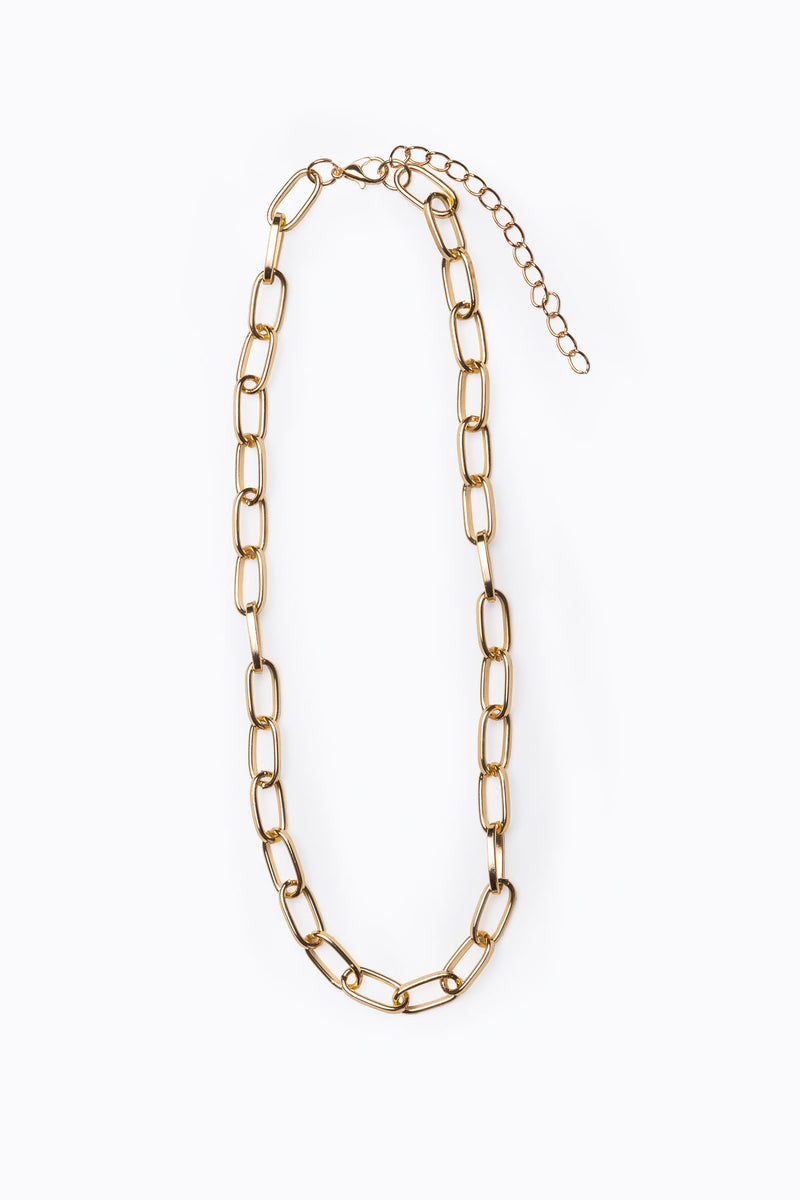 Emmy Ivy: Paperclip Large Chain Necklace