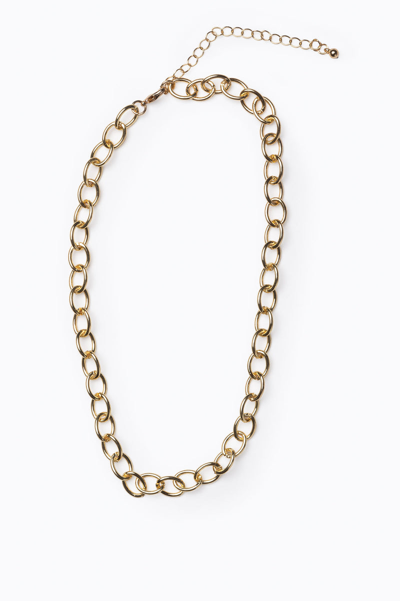 Emmy Ivy: Chunky Circle Chain Necklace
