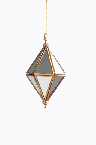 HOME: Glass Jewelry Boxes in Hexagon
