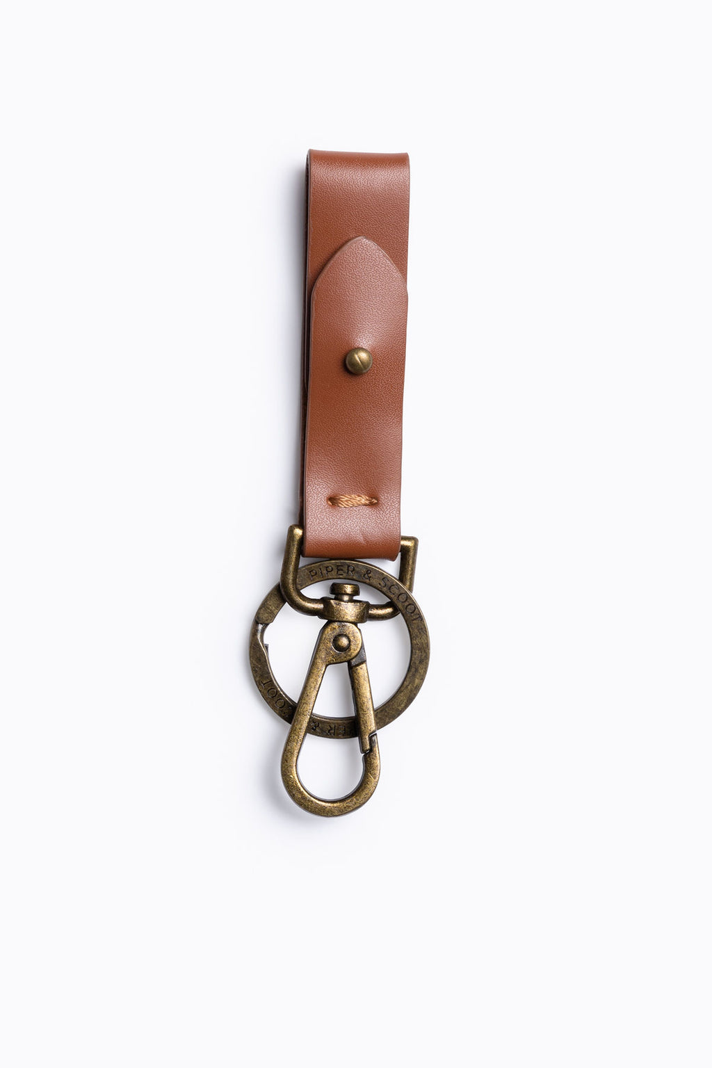 Piper & Scoot: Leather Key Fob