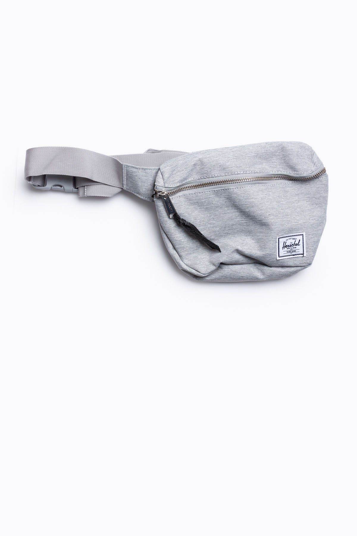 Herschel: Fifteen Hip Pack in Light Grey Crosshatch