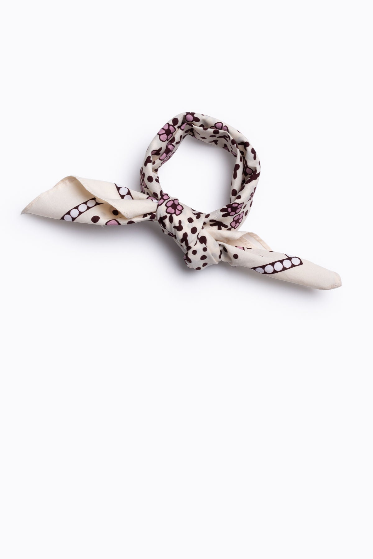 Piper & Scoot: Cotton Neck Scarf in Blush Floral