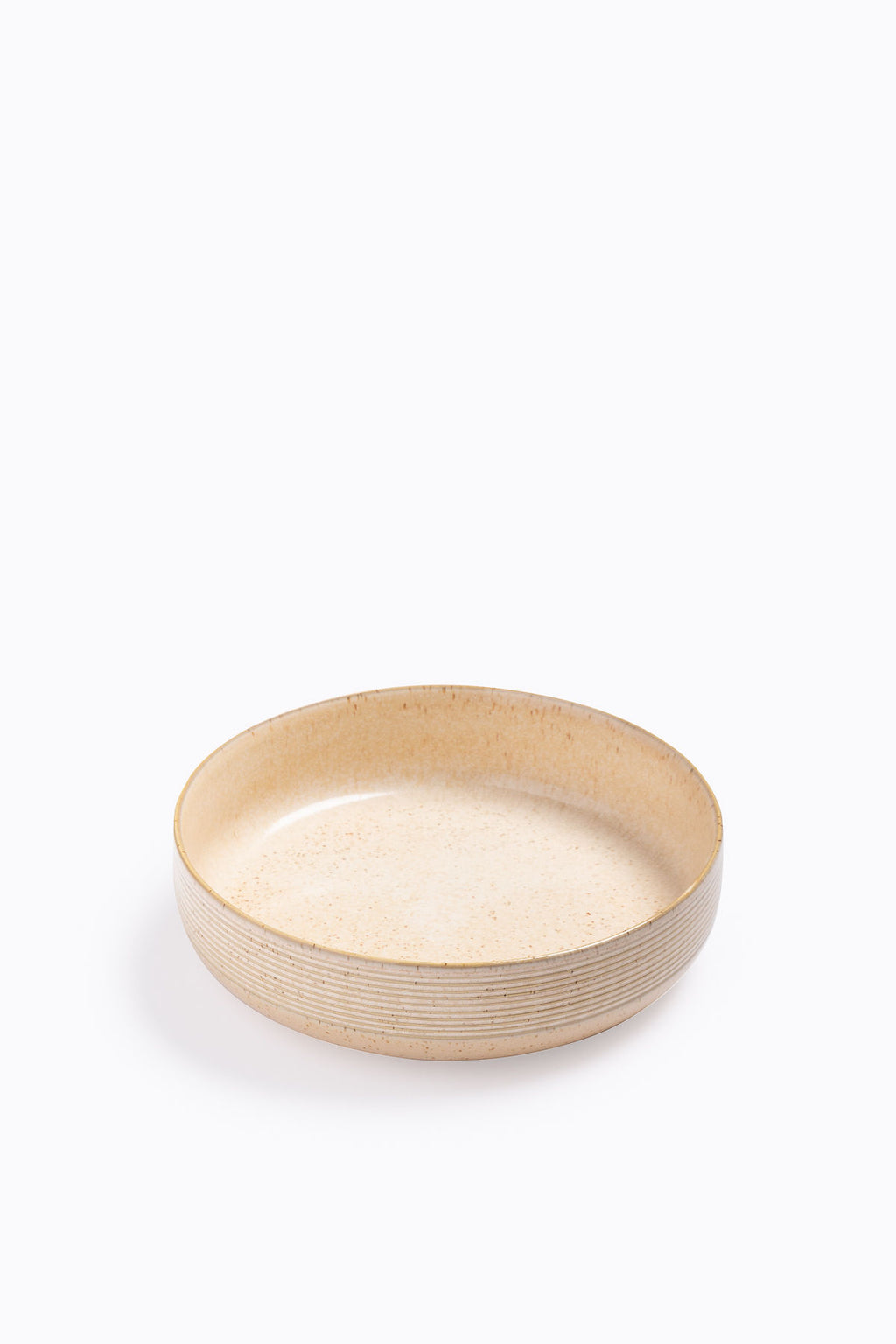 HOME: Speckled Stone Bowl in Natural