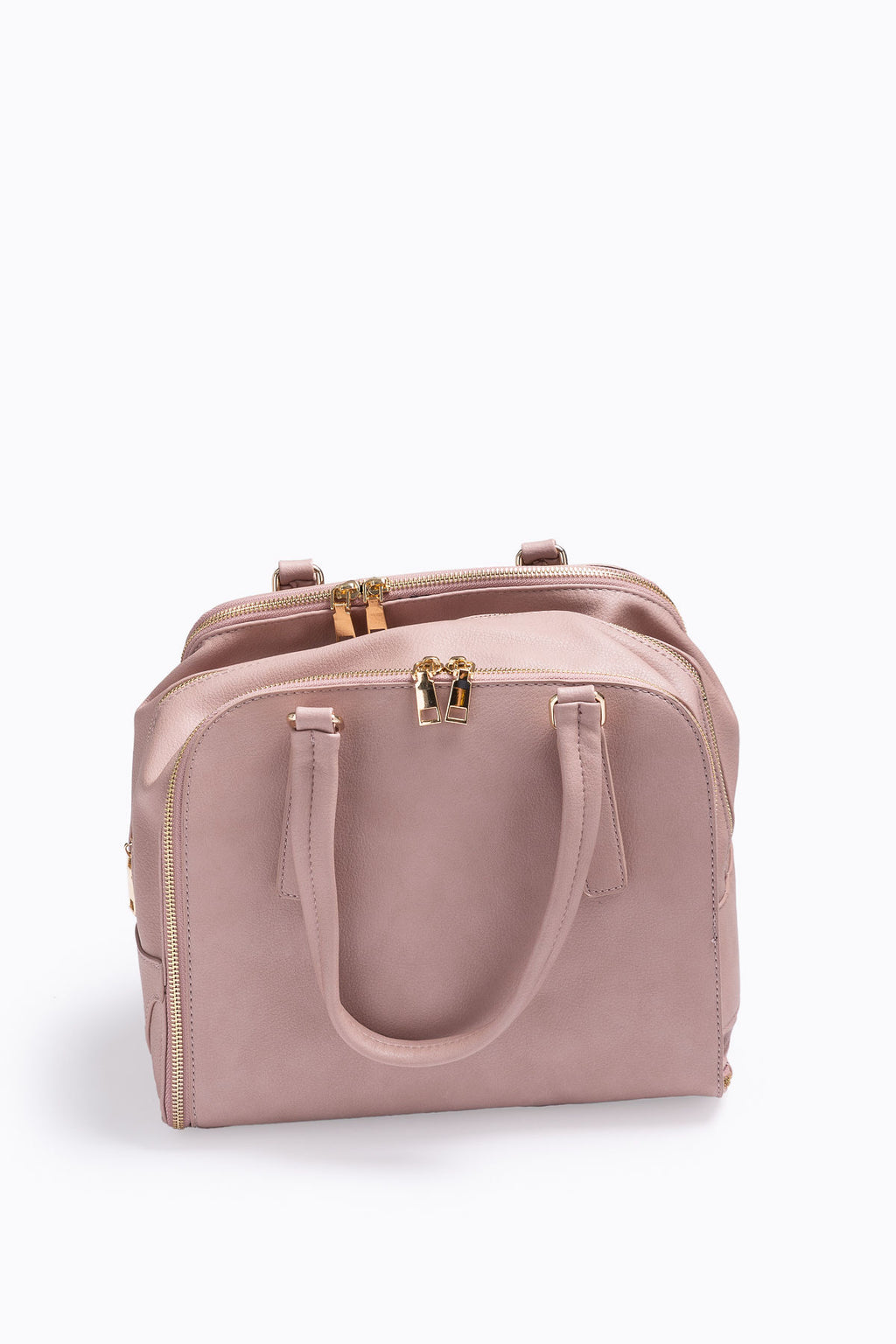 The Adriana Expandable Tote in Blush