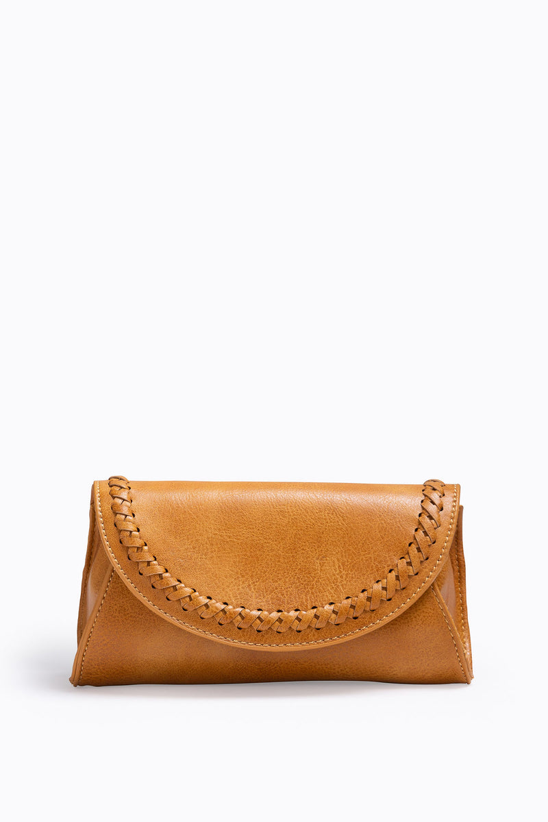 The Tropic Stitched Belt Bag in Tan