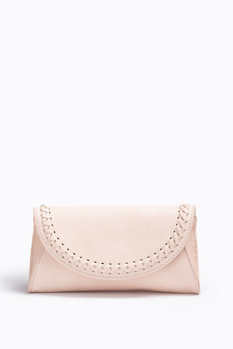 The Tropic Stitched Belt Bag in Cream