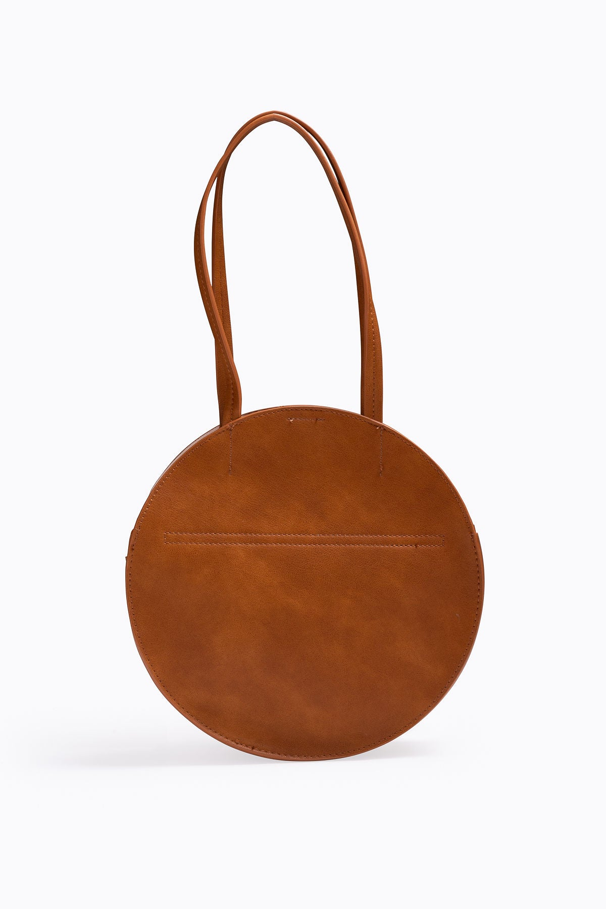 The Yash Round Handbag in Brown – Piper   Scoot