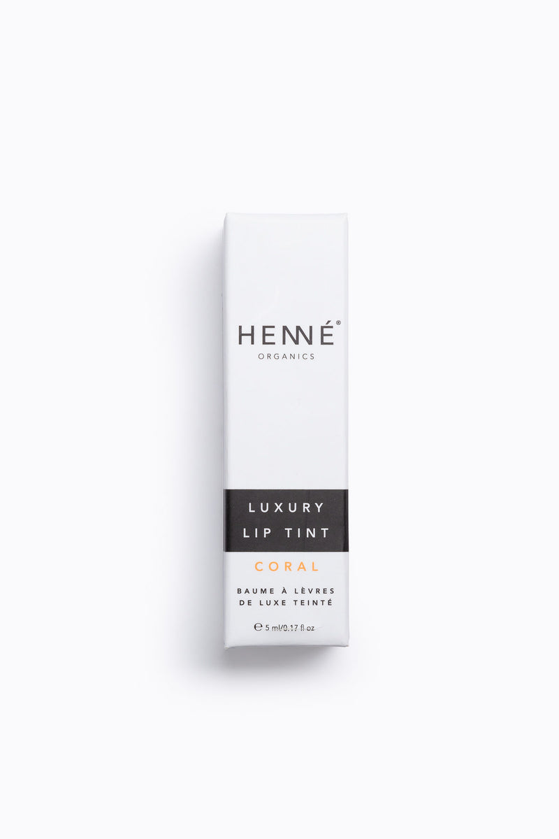 Henne: Luxury Lip Tint in Coral