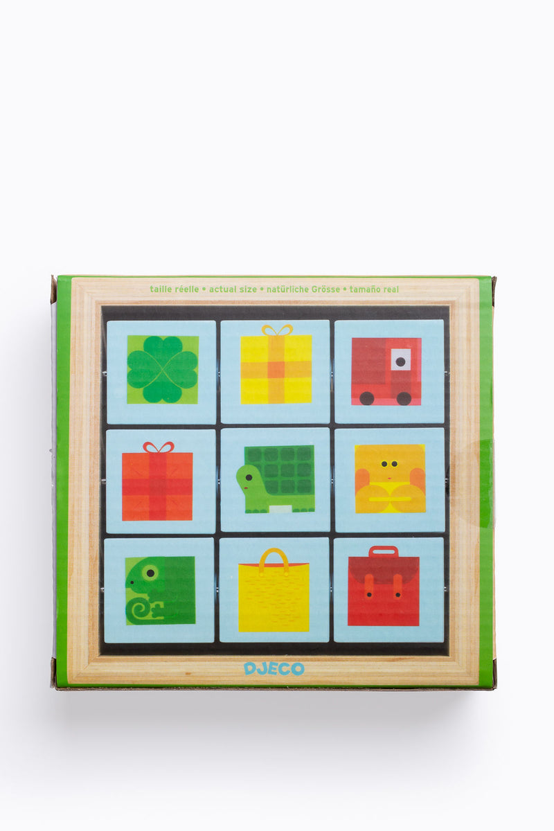 DJECO: TriBasic Wooden Activity Puzzle