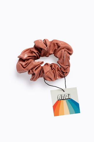 Rose Pleated Scrunchie
