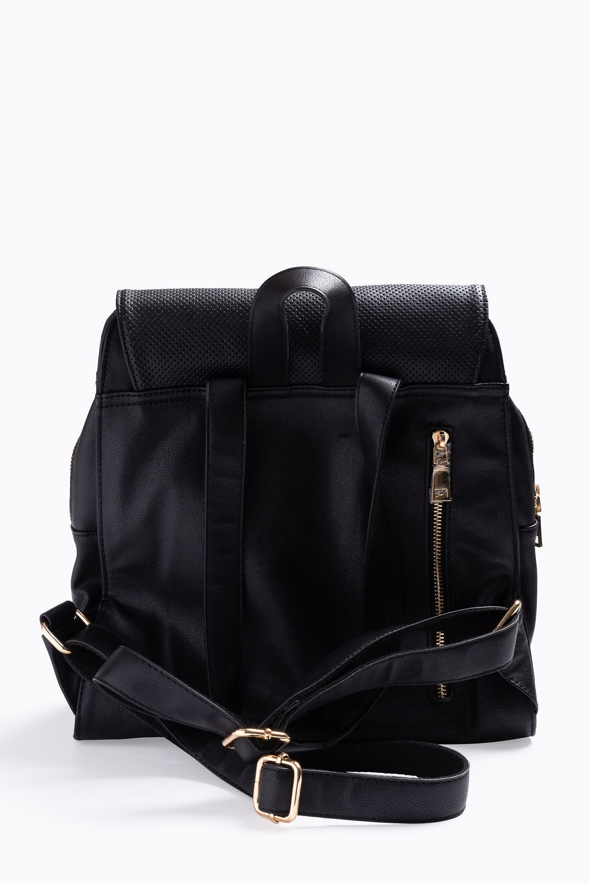 The Mick Perforated Daypack in Black