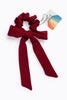 Ruby Long Bow Scrunchie