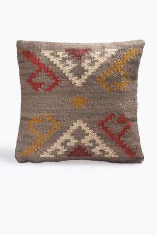 HOME: Mod Pillow with Embroidery