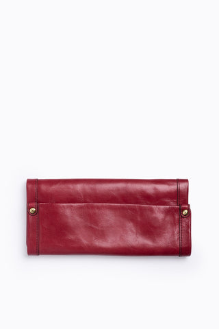 Hobo: Rachel Wallet in Metallic Rose