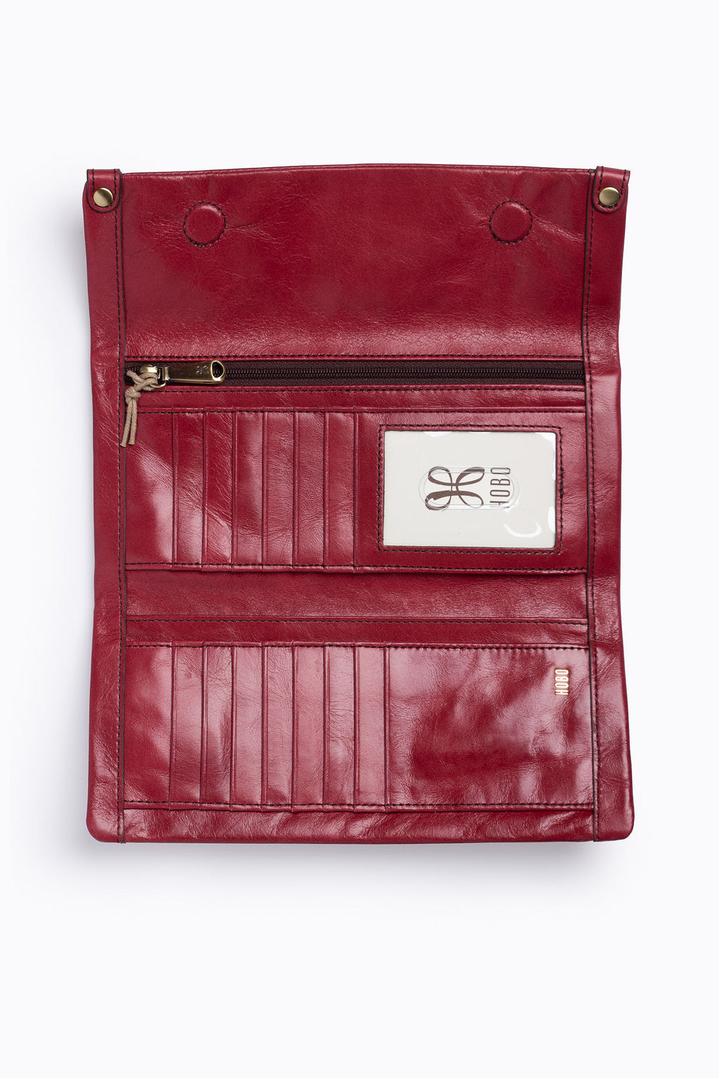 Hobo: Fable Wallet in Vintage Loganberry