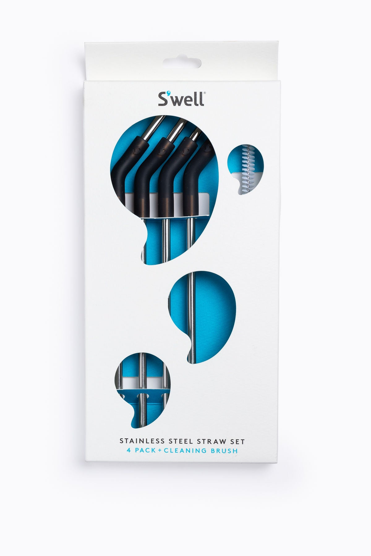 S'Well: Stainless Steel Straw Set