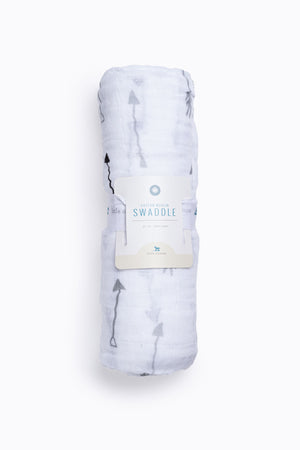 HOME: Little Unicorn Cotton Muslin Swaddle Single in Arrow