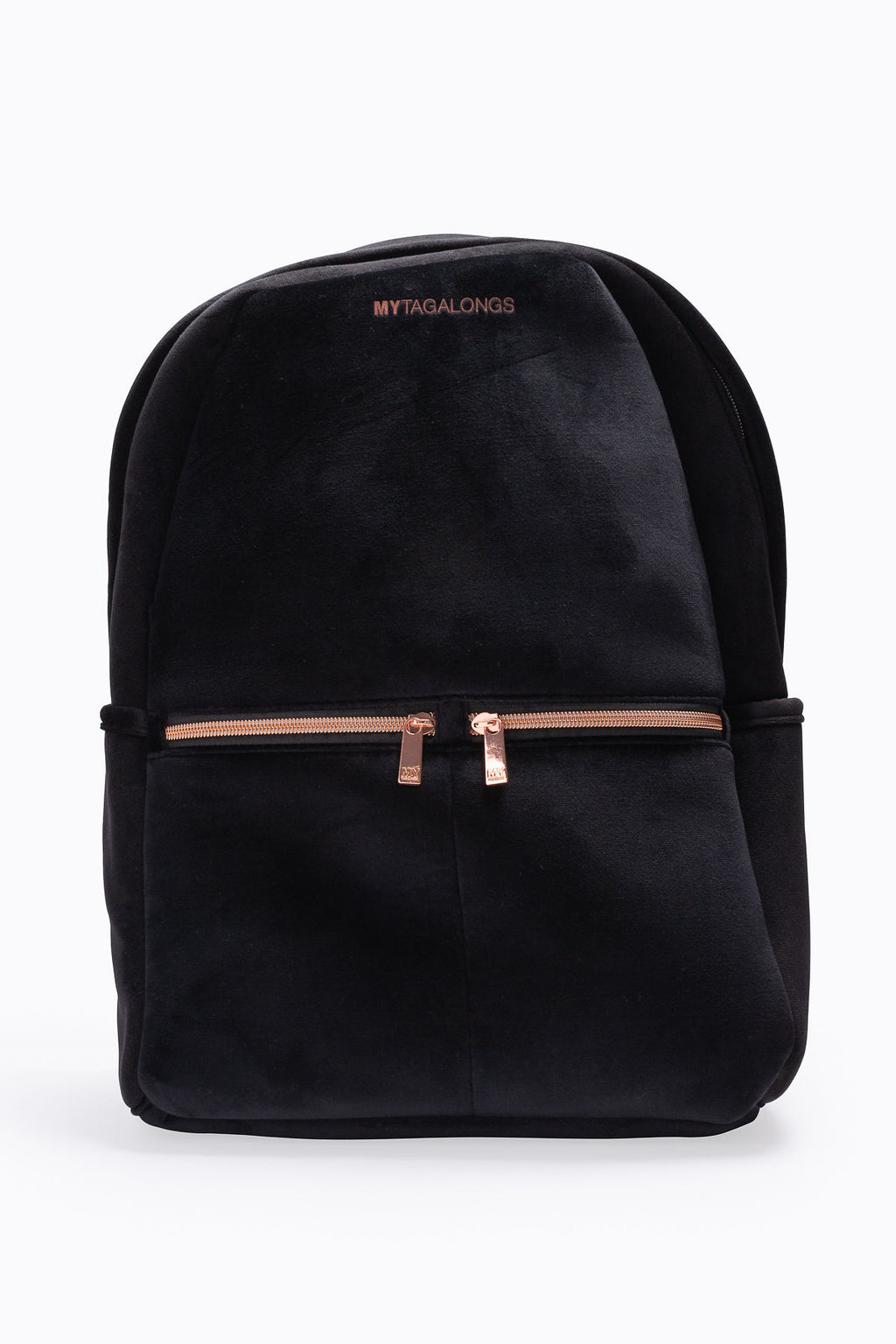 Mytagalongs: Vixen Backpack in Black Velour