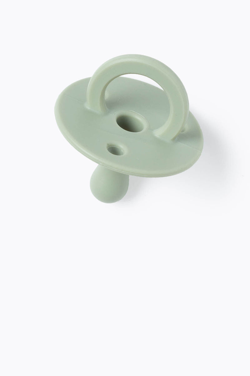 BABY: Pacifier in Sage