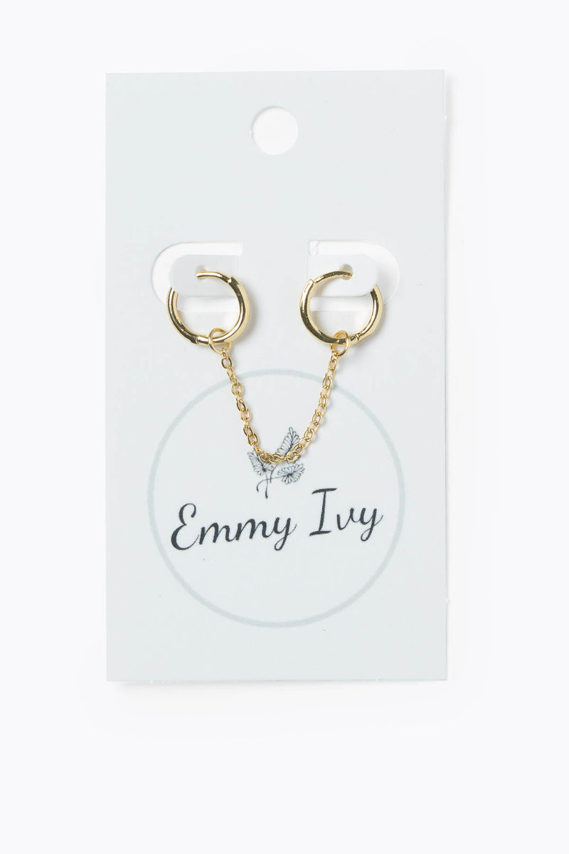 Emmy Ivy: Double Chain Earring