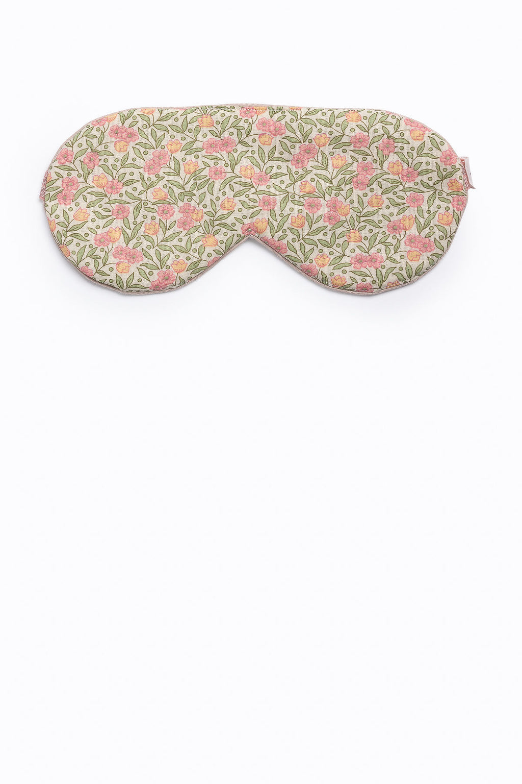 Cotton Sleep Mask in Tropical Florals