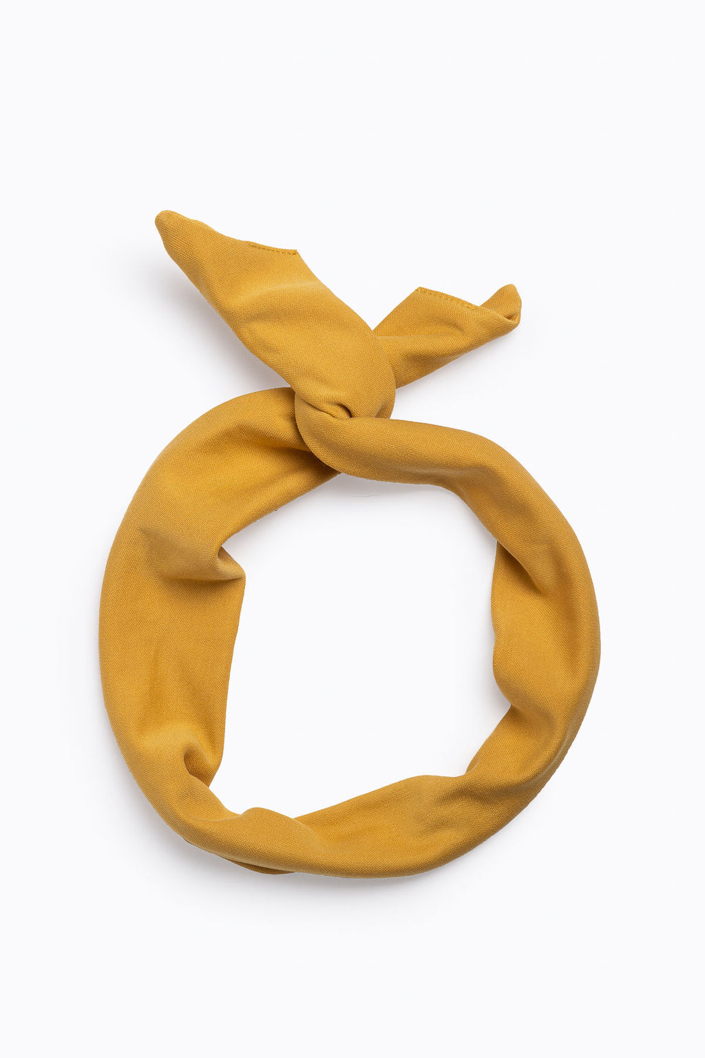 Classic Twisted Headband in Yellow