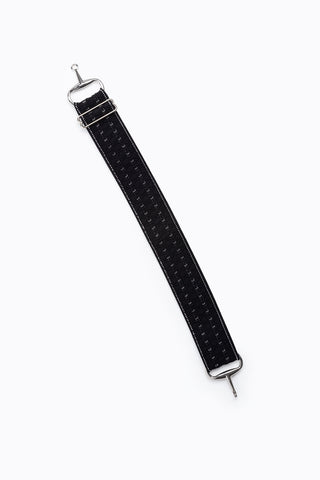 Elastic Belt in Black Forest Stripes
