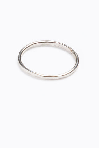 Nashelle: Thin Texture Ring