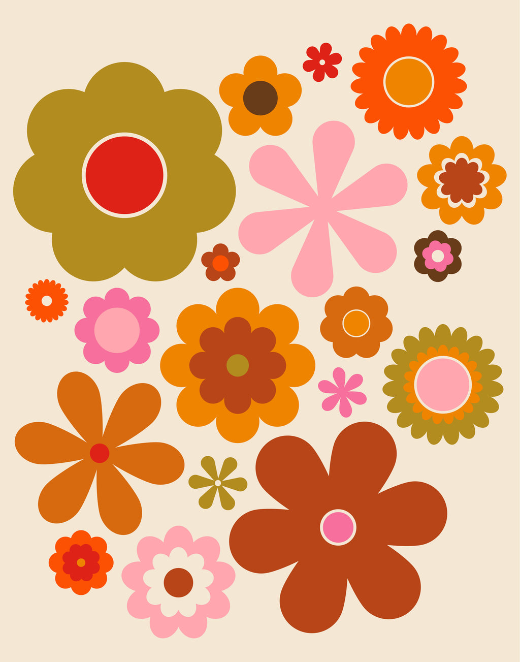 FREE DOWNLOAD: Retro Floral