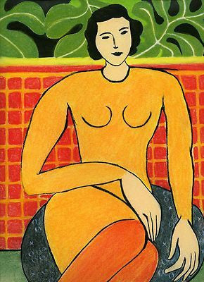 Seated Woman by Henri Matisse