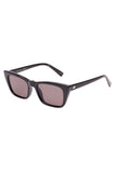 Le Specs black cat eye frame sunglasses