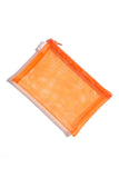 Walker Mesh Pouch in orange