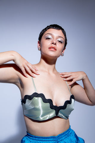 Maryam Nassir Zadeh, Eden Bra Top. Shop these styles and more at Olive, an East Austin boutique.