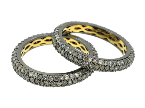 The Pave Line Ring