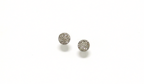 Bar Fringe Diamond Studs
